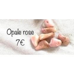 pierre roulée opale rose