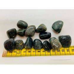 pierre roulée apatite bleue