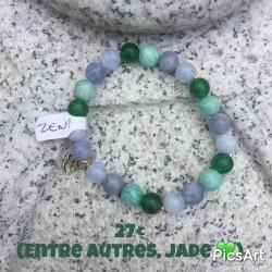 bracelet zen jade