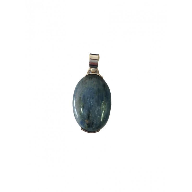 pendentif Cyanite (ou disthène) argent